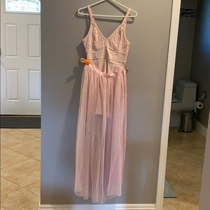 Two Piece Pink Free People Dress